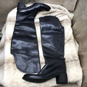 Charles David Over the Knee Boots Size 7